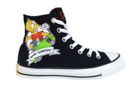 Кеды Converse (конверс) The Simpsons Chuck Taylor All Star 146810 с принтом