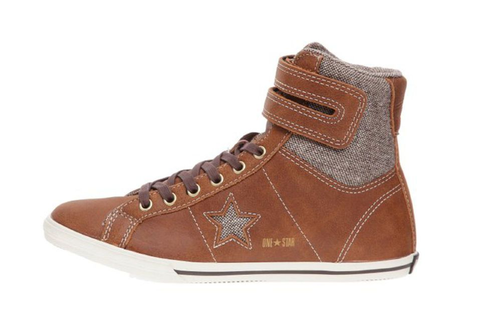 ... Кожаные кеды Converse (конверс) One Star Low Pro 117115 коричневые  latest fashion 44fc9 fa625 ... 880488ce0af2e