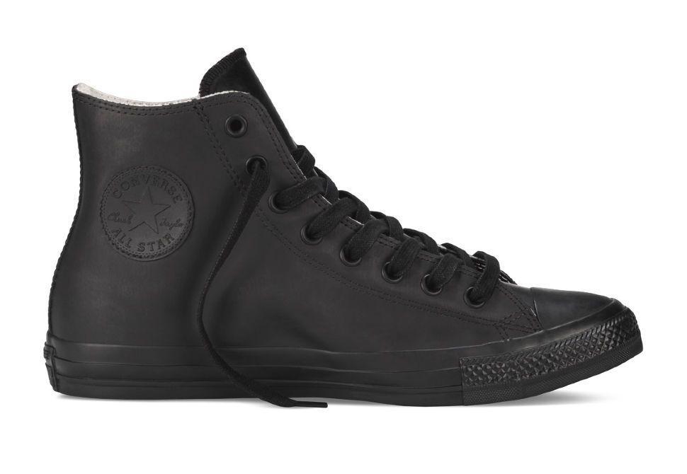 Резиновые кеды Converse (конверс) Chuck Taylor All Star 144740 черные f7e0b493d67