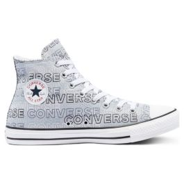 Кеды Converse Chuck Taylor All Star Wordmark High Top 170665 высокие серые