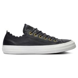 Кеды женские Converse Chuck Taylor All Star Scallop 563516 кожаные