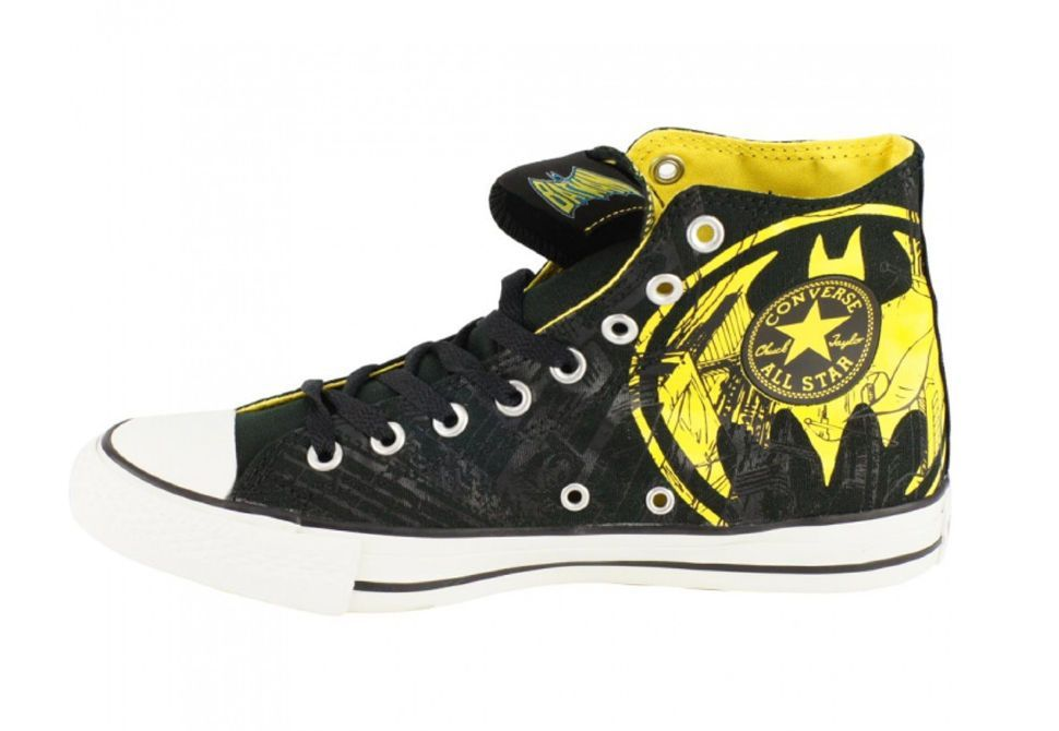 Кеды Converse (конверс) Chuck Taylor All Star DC Comics Batman 119939 черные 161b45ca8d1de
