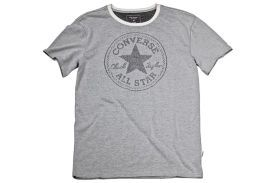 Футболка мужская Converse Knitted Men's SS Crew Tee 10003421102 серая