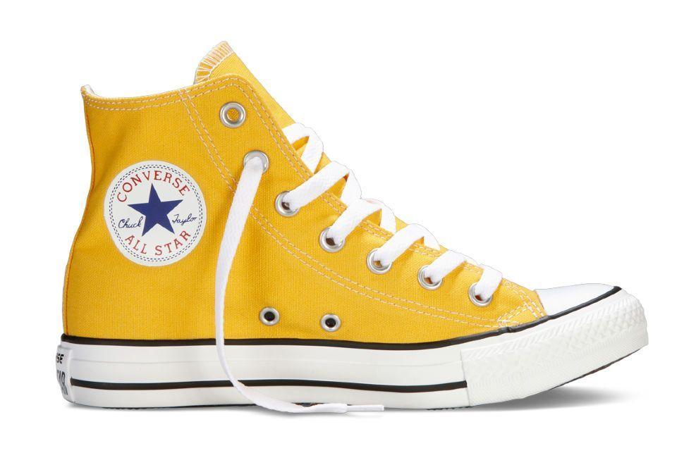 Кеды Converse (конверс) Chuck Taylor All Star 144803 желтые купить ... 4ae9b19cf8f9e