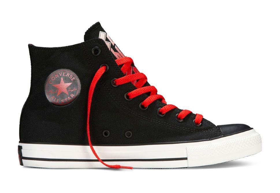 86672ddde492 Кеды Converse (конверс) CHUCK TAYLOR ALL STAR AS BLACK SABBATH 143251 черные