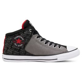 Кеды Converse Chuck Taylor All Star High Street 166958 текстильные серые