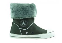 Замшевые кеды Converse (конверс) Chuck Taylor All Star Andover Boot 525938 серые