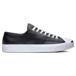 Кеды Converse Jack Purcell Leather Low Top 164224 кожаные черные