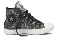 Кеды Converse (конверс) Chuck Taylor All Star COTTON HI 544995 с принтом