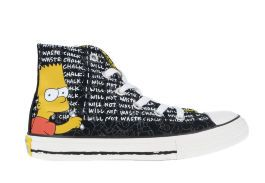 Детские кеды Converse (конверс) The Simpsons Chuck Taylor All Star 641390 с принтом