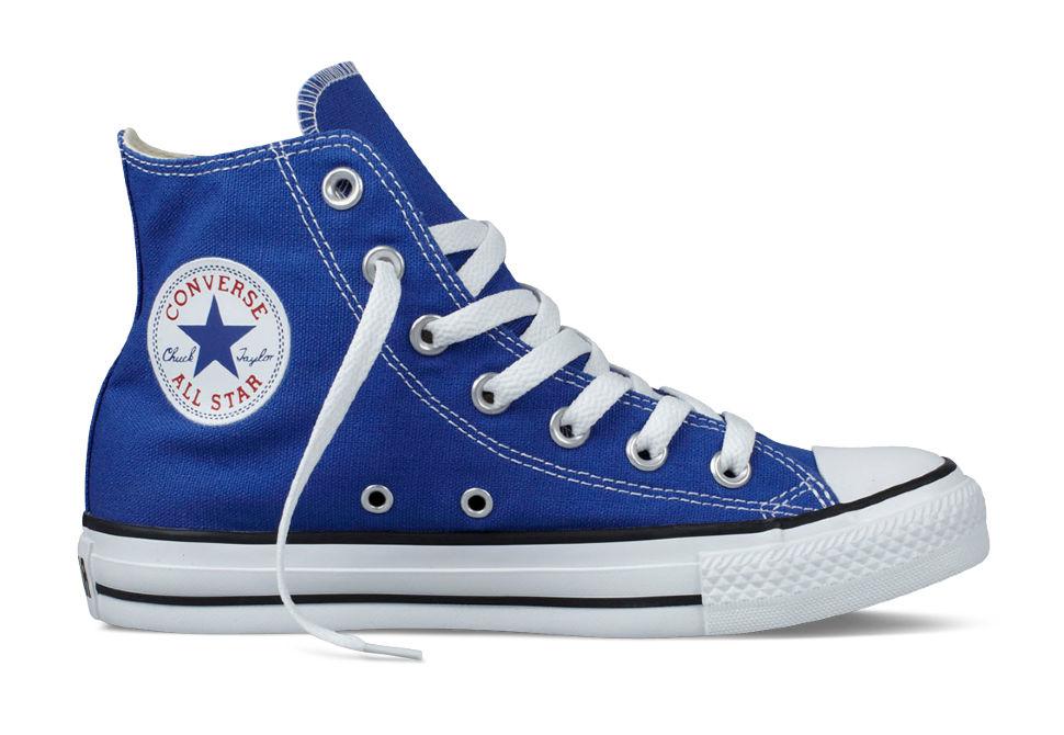 a451cc419cae Кеды Converse (конверс) Chuck Taylor All Star 130123 ярко-синие ...