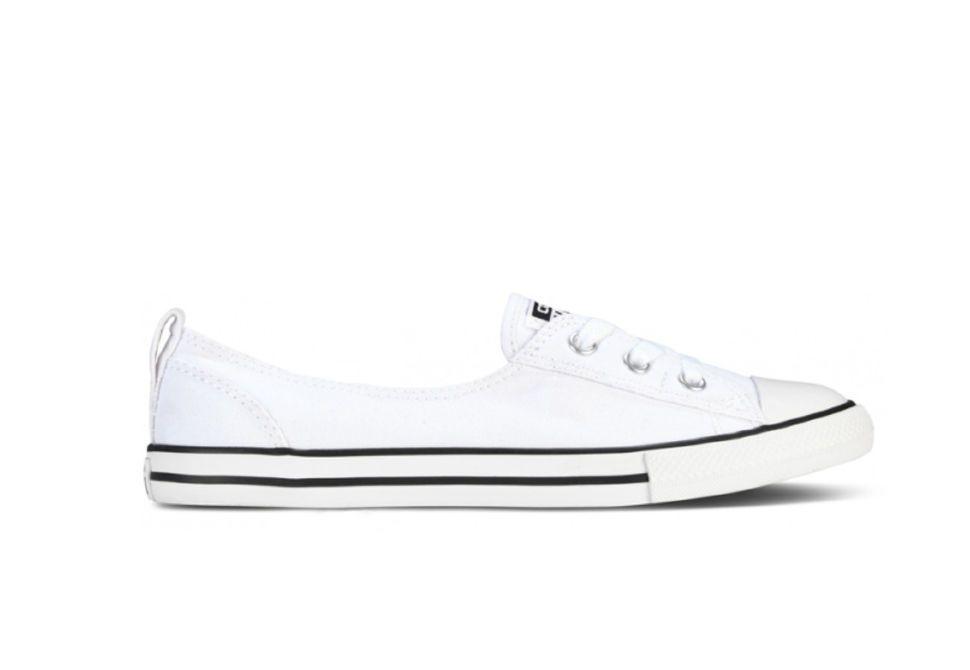 Кеды Converse (конверс) Chuck Taylor All Star Ballet Lace 547167 белые f291b46a109