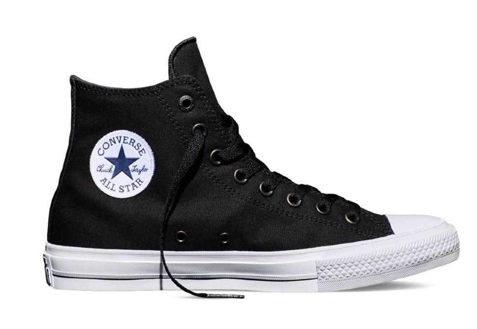 Кеды Converse (конверс) Chuck Taylor All Star II 150143 черные ... 743c152f9da82