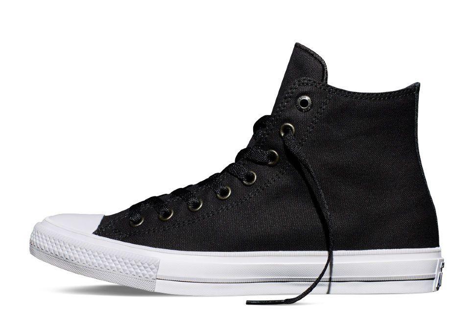 Кеды Converse (конверс) Chuck Taylor All Star II 150143 черные ... 3eaeae2b509c2