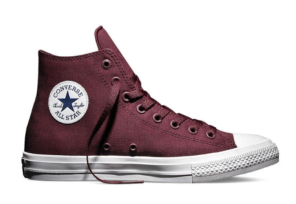 Кеды Converse (конверс) Chuck Taylor All Star II 150144 бордовые ... b761e18144a