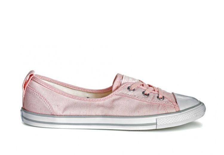 Кеды Converse Chuck Taylor all Star Ballet Lace 555871 розовые