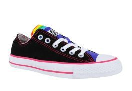 Кеды Converse (конверс) Chuck Taylor All Star Multi Tongue 547219 черные