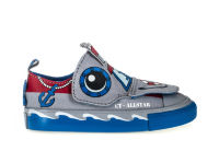 Детские кеды Converse Chuck Taylor All Star Kids Creatures 758189 серые
