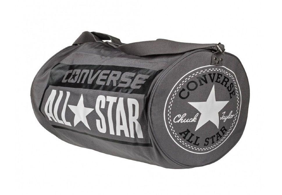 907b5305c955 Спортивная сумка Converse LEGACY BARREL DUFFEL BAG 10422C010 серая.  Официальный магазин