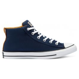 Кеды мужские Converse Chuck Taylor All Star Street Mid Midnight 170395 текстильные синие